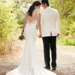 Mira Couture Martina Liana 862 Wedding Bridal Dress Gown Chicago Boutique Back