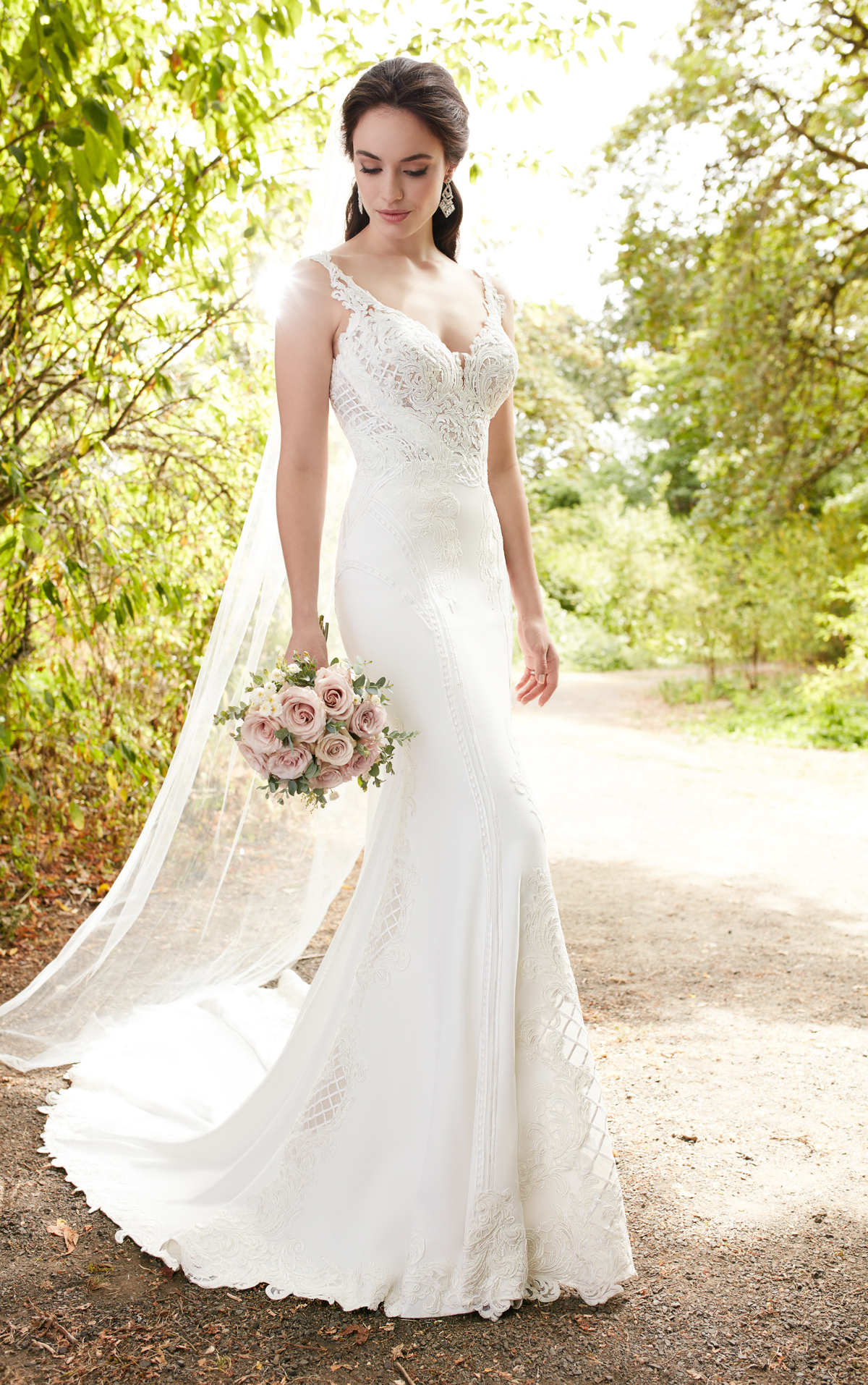 Mira Couture Martina Liana 862 Wedding Bridal Dress Gown Chicago Boutique Front