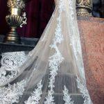 Mira Couture Yumi Katsura Emmanuel Wedding Bridal Dress Gown Chicago Boutique Back