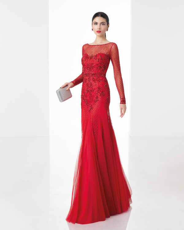 Mira Couture Rosa Clara 1T125 Evening Gown Dress Chicago Boutique Front