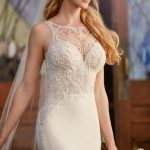 Mira Couture Martina Liana 875 Wedding Dress Bridal Gown Chicago Salon Boutique Detail