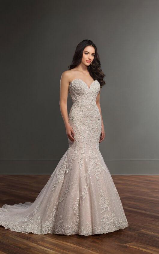 Mira Couture Martina Liana 895 Wedding Dress Bridal Gown Chicago Salon Boutique Front
