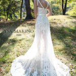 Mira Couture Ysa Makino Bridal Gown Wedding Dress Chicago Boutique Salon Back 69084