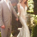 Mira Couture Martina Liana 967 Wedding Gown Bridal Dress Chicago Boutique Side
