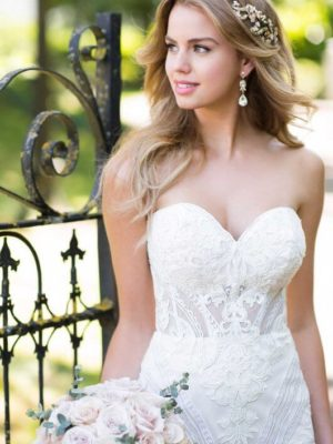 Mira Couture Martina Liana 977 Wedding Gown Bridal Dress Chicago Boutique Detail