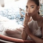 Mira Couture Elihav Sasson VJ011 Wedding Gown Bridal Dress Chicago Boutique Close Up Detail