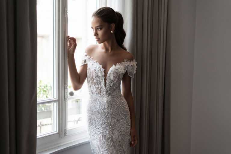 Mira Couture Elihav Sasson VJ013 Wedding Gown Bridal Dress Chicago Boutique Front