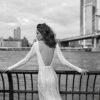 Mira Couture Flora Gabrielle Wedding Gown Bridal Dress Chicago Boutique Back