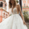 Mira Couture Neta Dover 1100718 Wedding Dress Bridal Gown Chicago Boutique Front