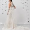 Mira Couture Justin Alexander Signature 99018 Wedding Dress Bridal Gown Boutique Chicago Back