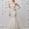 Mira Couture Justin Alexander Signature 99018 Wedding Dress Bridal Gown Boutique Chicago Front