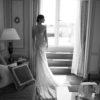 Mira Couture Netta Benshabu Abigail Wedding Dress Bridal Gown Chicago Boutique Back