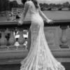 Mira Couture Netta Benshabu Elinore Wedding Dress Bridal Gown Chicago Boutique Back