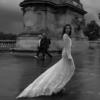 Mira Couture Netta Benshabu Elinore Wedding Dress Bridal Gown Chicago Boutique Black and White