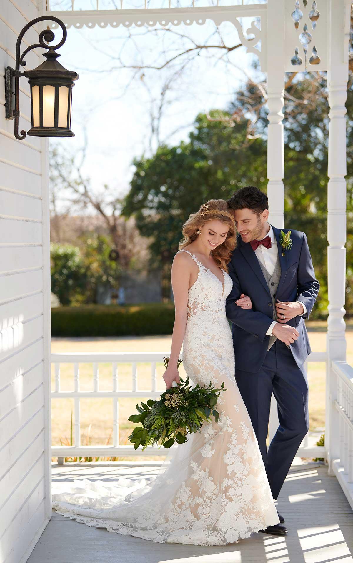Mira Couture Martina Liana 1030 Wedding Dress Bridal Gown Chicago Boutique Custom Design Full