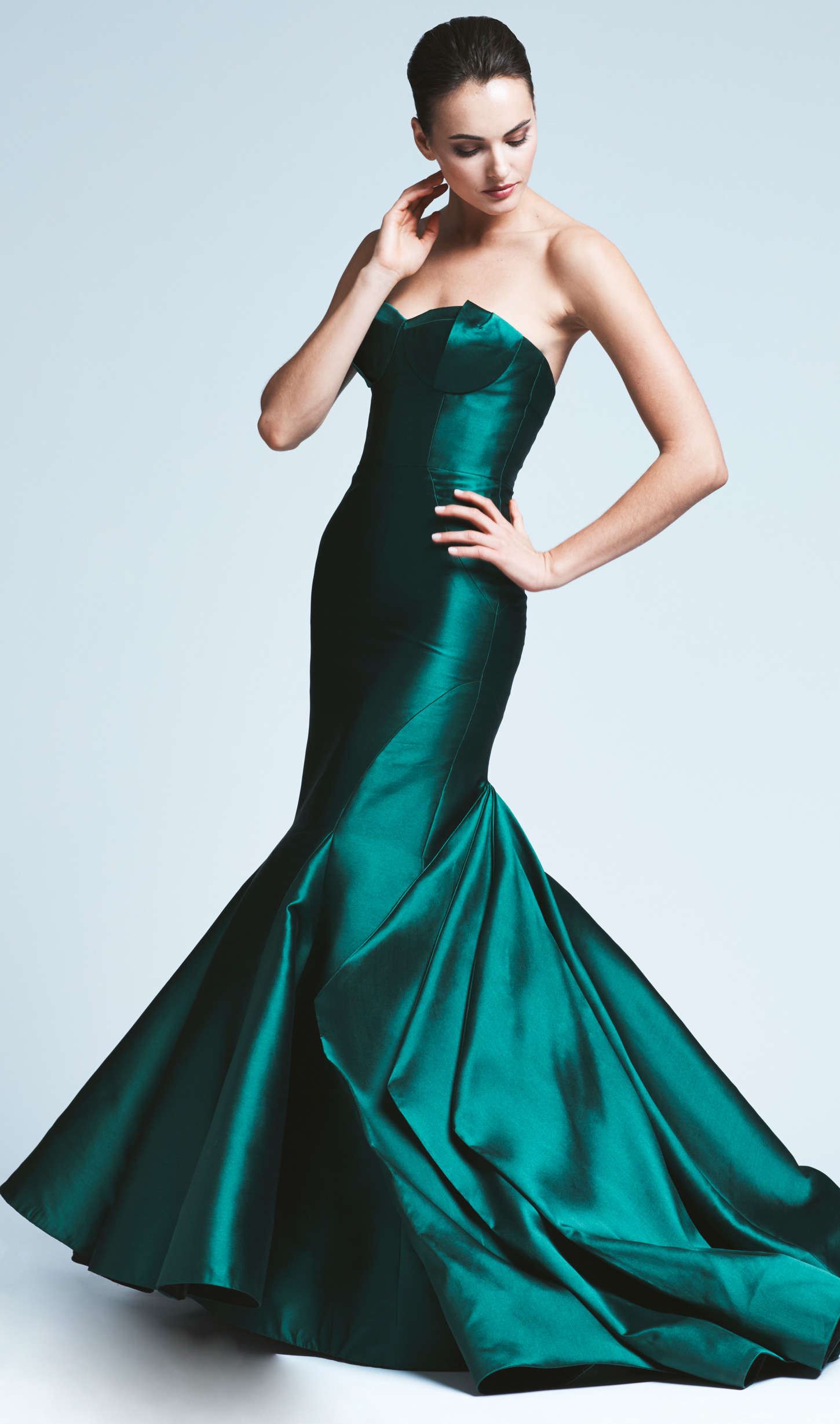 Mira Couture Anne Barge Black Label Natalia Formal Wear Evening Gown Chicago Boutique
