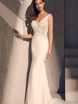Mira Couture Mikaella 2211 Wedding Dress Bridal Gown Full
