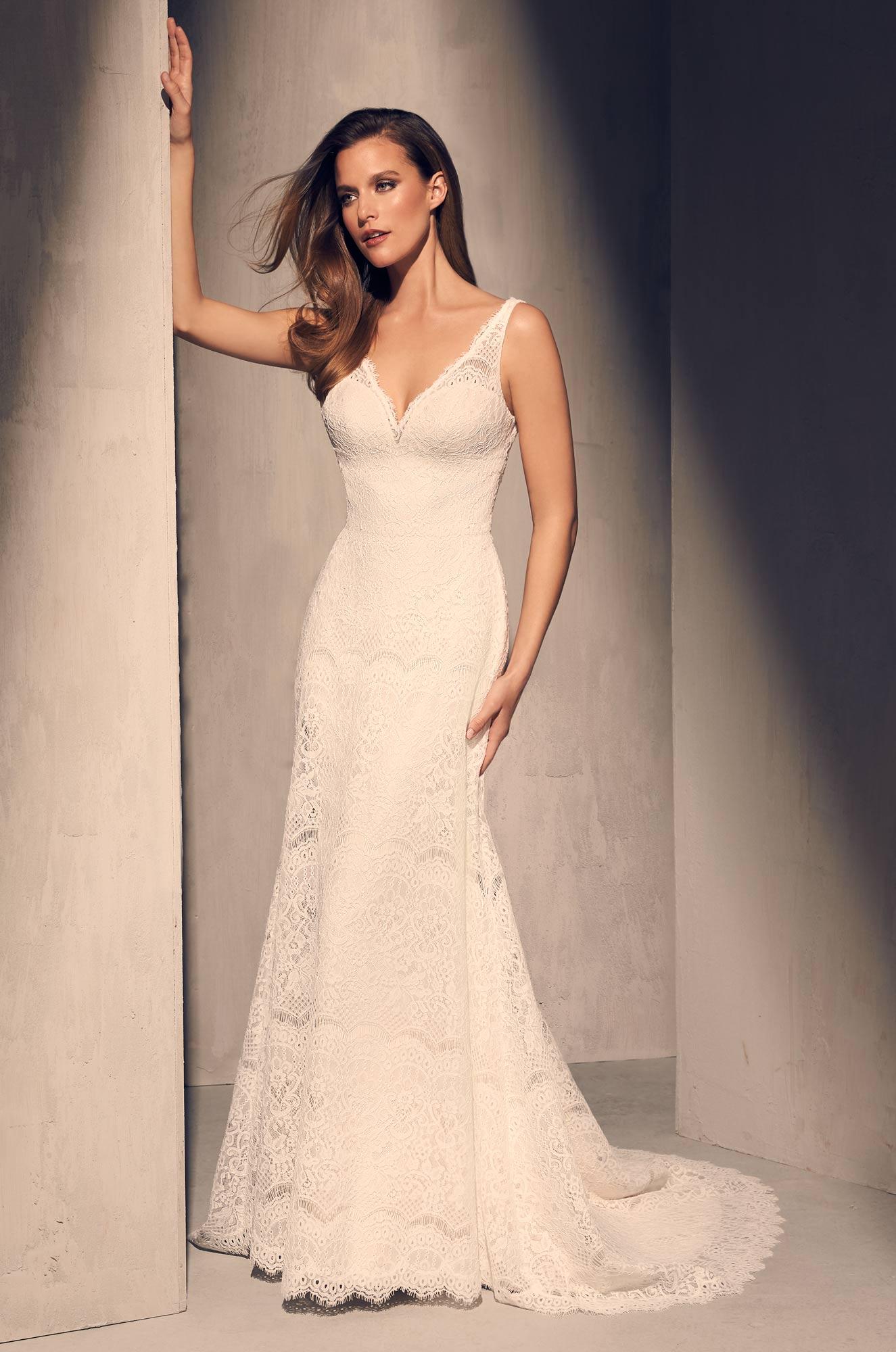 Mira Couture Mikaella 2217 Wedding Dress Bridal Gown Full