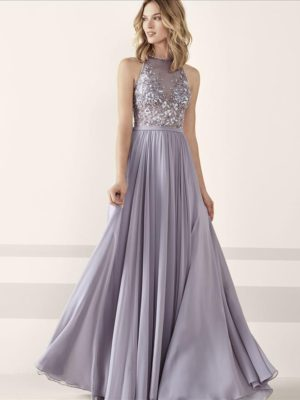 Mira Couture Pronovias Jesen Evening Formal Wear Front