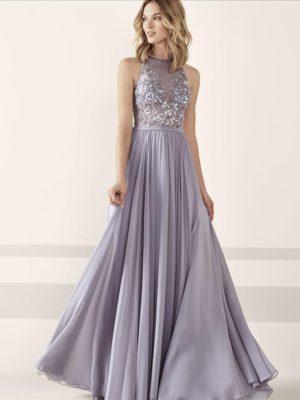 Mira Couture Pronovias Jesen Evening Formal Wear Front