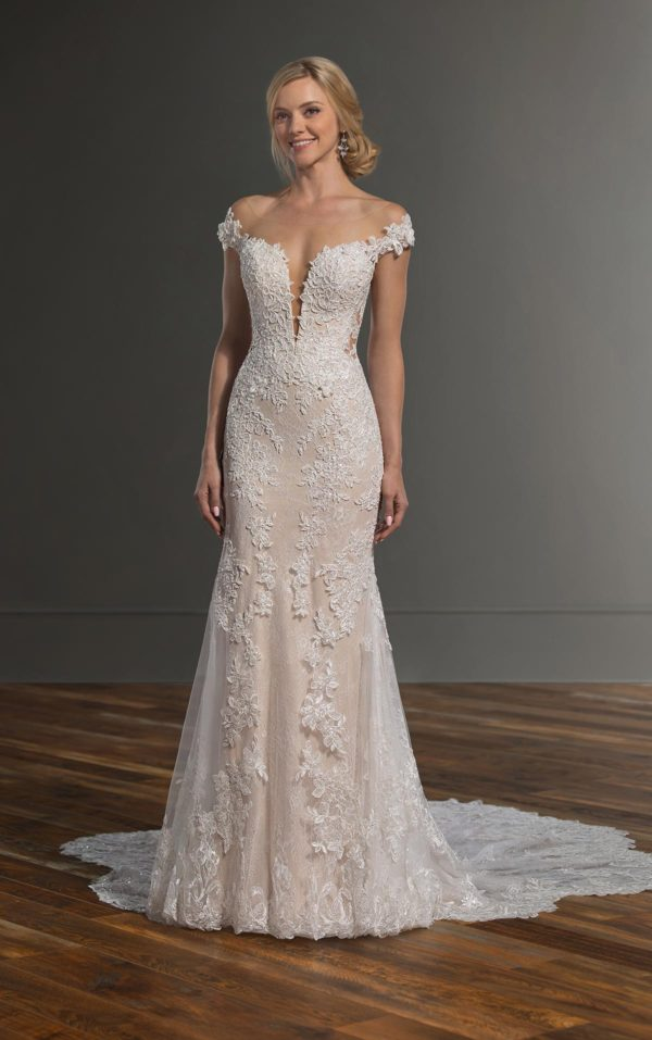 Mira Couture Martina Liana 1047 Wedding Dress Bridal Gown Chicago Boutique Front