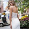 Mira Couture Netta Benshabu Dawn Wedding Dress Bridal Gown Chicago Boutique Back