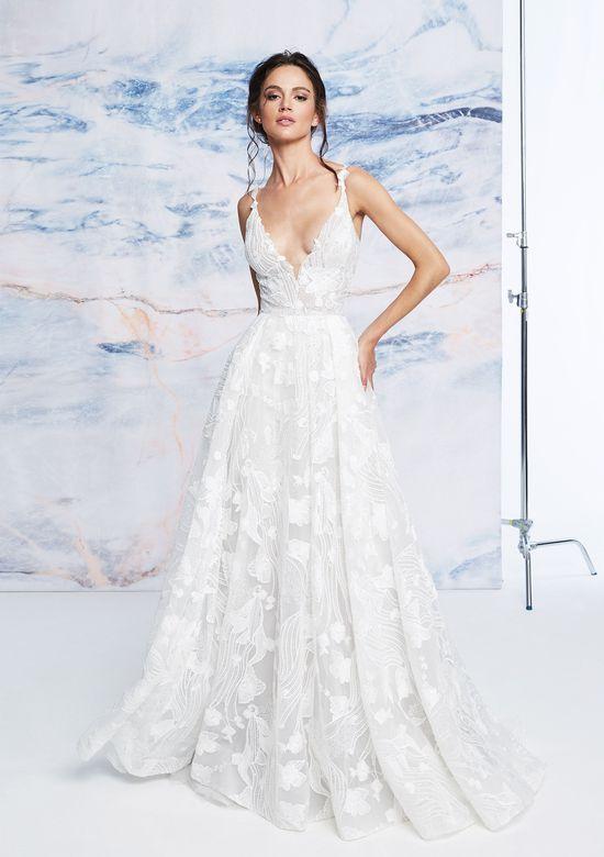 Mira Couture Justin Alexander Signature Cortina Wedding Dress Bridal Gown Front