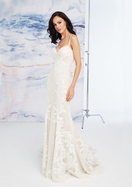 Mira Couture Justin Alexander Signature Geneva Wedding Dress Bridal Gown Back