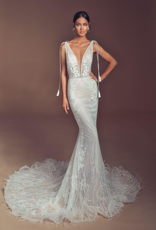 Mira Couture Elihav Sasson e023 Wedding Dress Bridal Gown Chicago Illinois Boutique Front