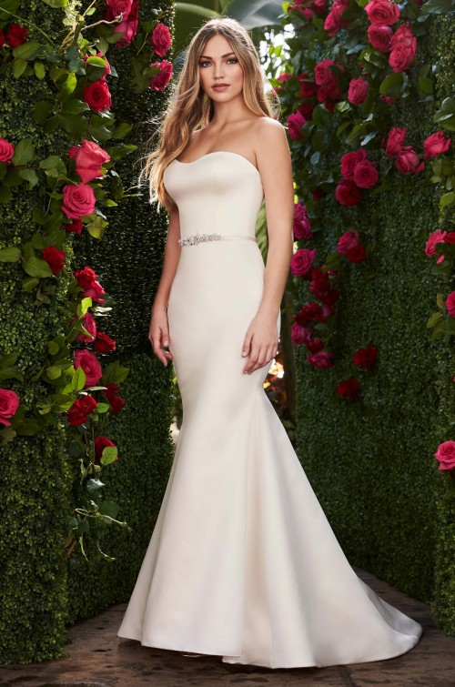Mira Couture Mikaella 2267 Wedding Dress Bridal Gown Chicago Boutique Front