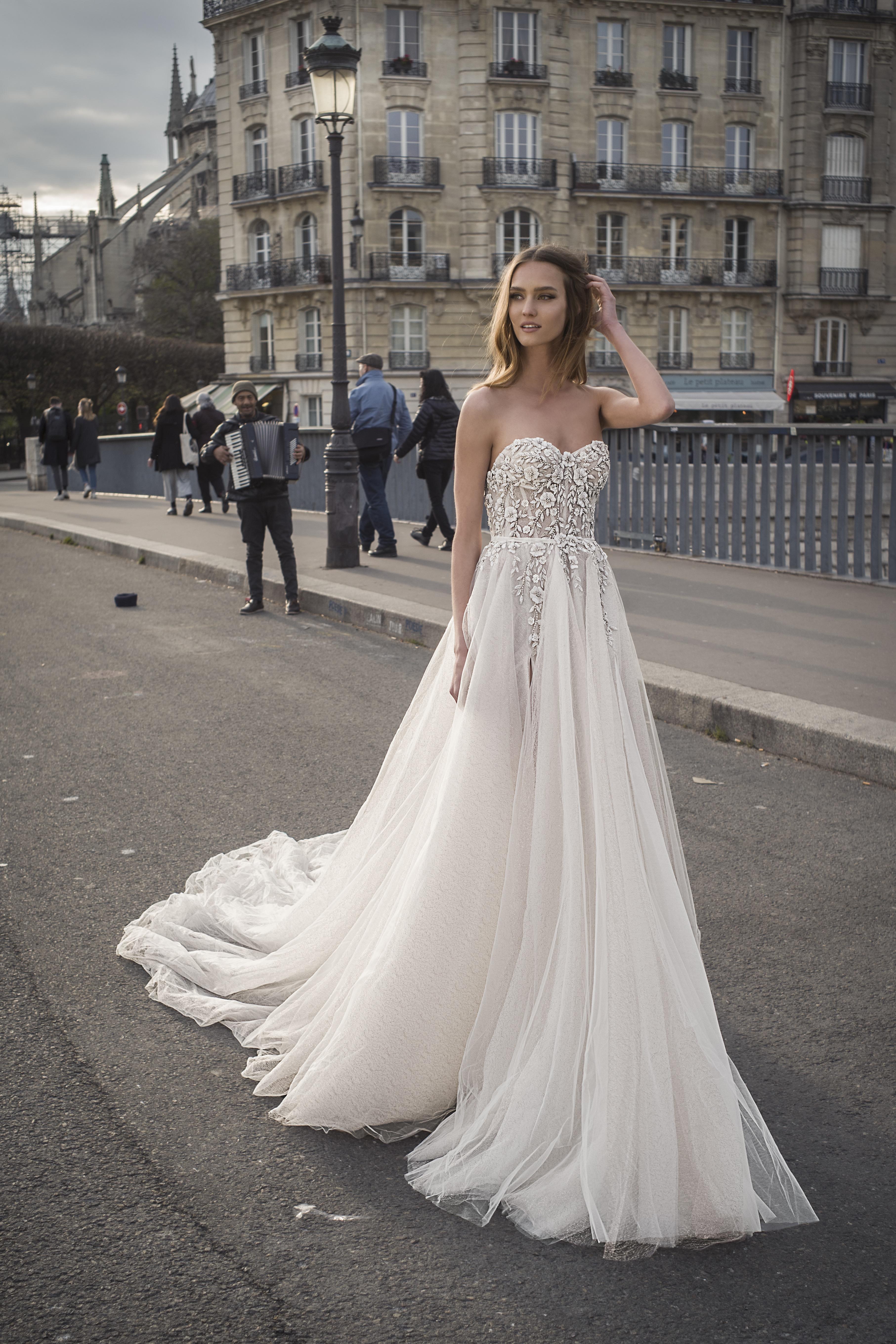 Mira Couture Netta Benshabu Shihlo Wedding Dress Bridal Gown Israeli Designer Chicago Boutique Front