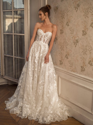 Mira Couture Netta Benshabu Symon Wedding Dress Bridal Gown Israeli Designer Chicago Boutique3