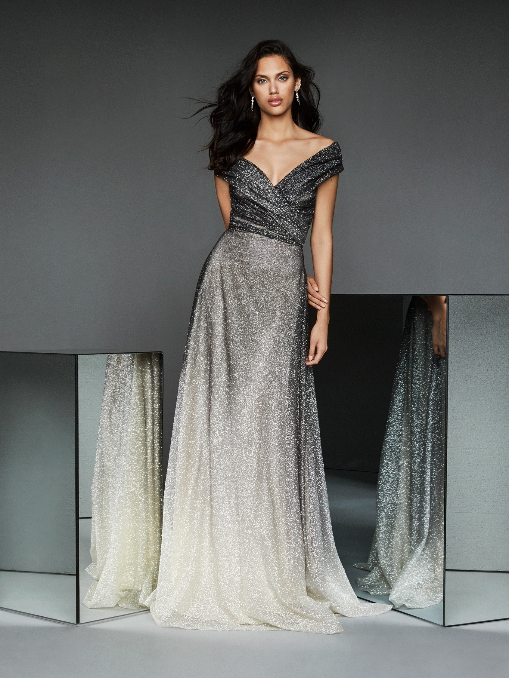 Mira Couture Pronovias TM STYLE 68 Eveningwear Mother of the Bride Groom Chicago Boutique