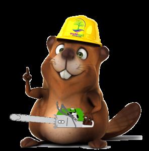 SaveMore Tree Service Beaver Mascot