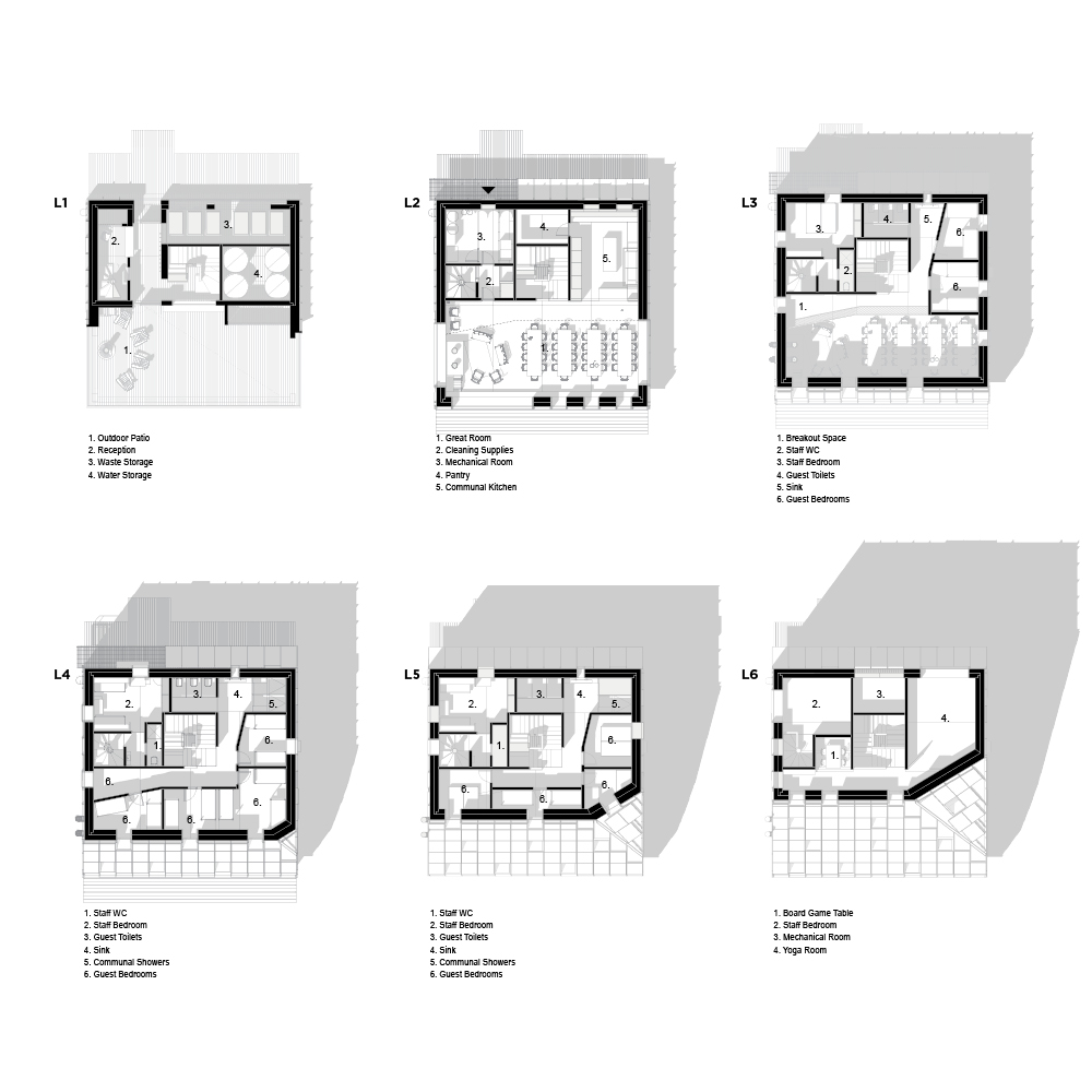 SLA HAHN Floor plans