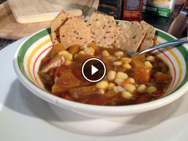Heart Healthy Hominy Stew