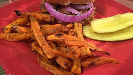 Big Daddy BBQ and Sweet Potato Fries