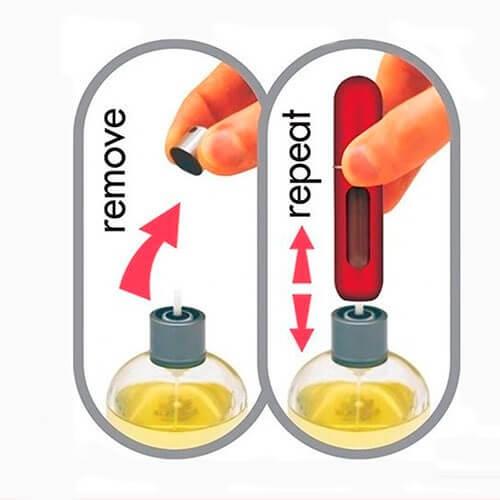 Remove Repeat Refill Atomizer