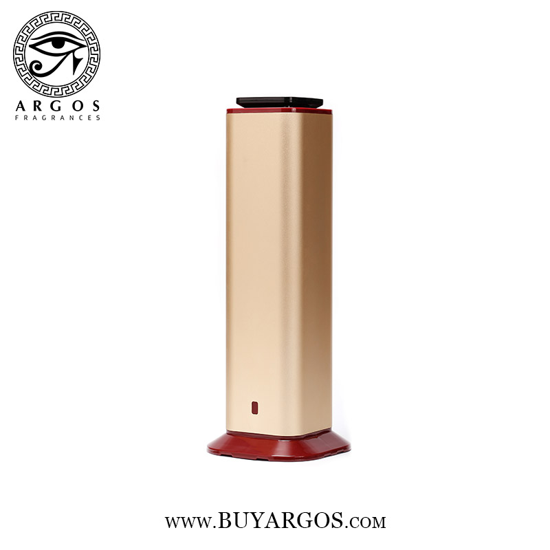 ARGOS COLD AIR FRAGRANCE DIFFUSER (GOLD) OPEN FULL