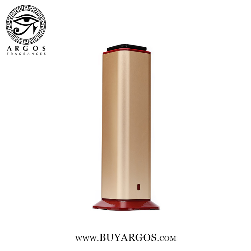 ARGOS COLD AIR FRAGRANCE DIFFUSER (GOLD) BOTTOM TO TOP