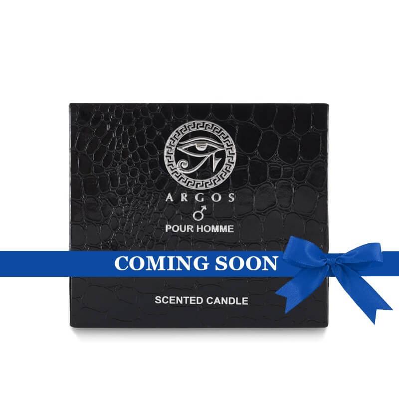 Argos Black Pour Homme Candle Box