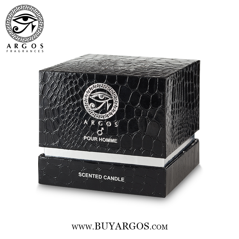 Argos Pour Homme Scented Candle Black