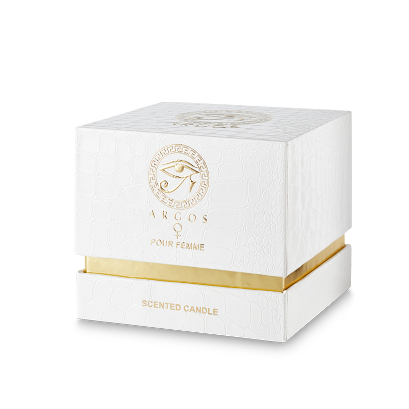 Argos Pour Femme Candle White Right Facing
