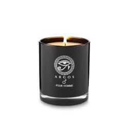 Argos Fragrance Pour Homme Candle Black