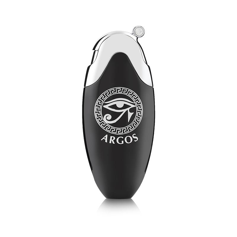 Argos Fragrance Oval Atomizer Black Front View