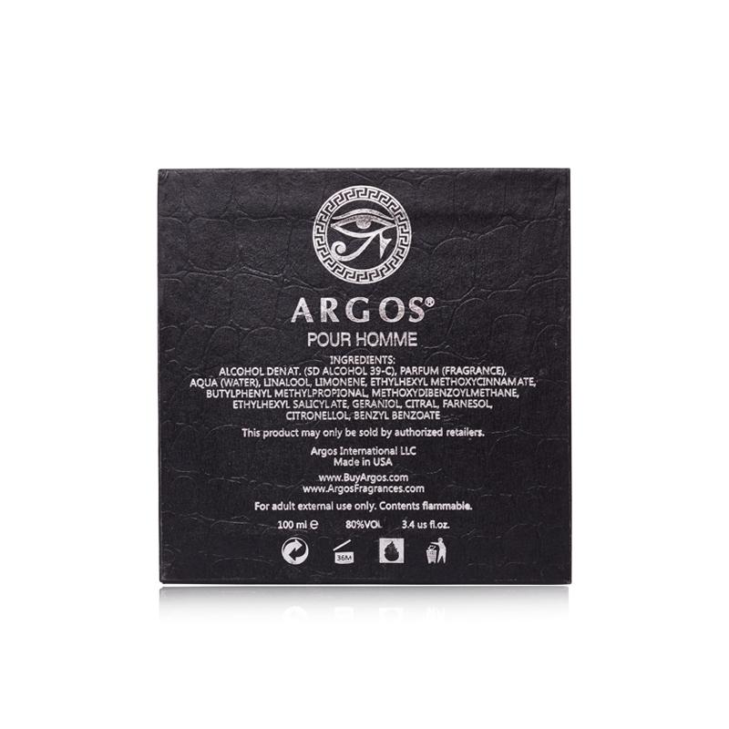 Argos Pour Homme Perfume Fragrances 100ml