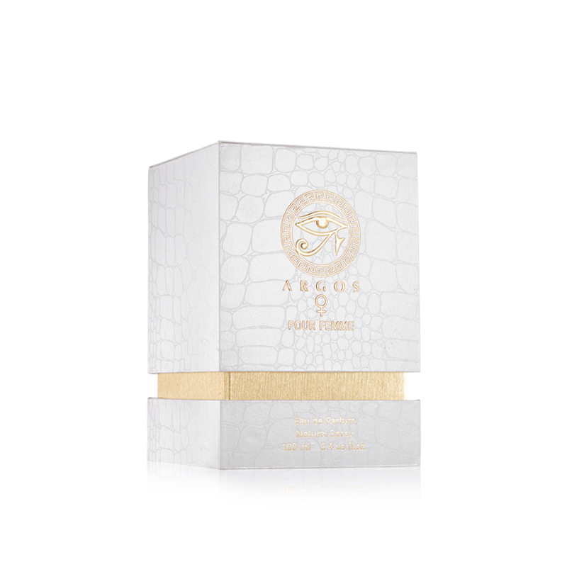 Argos Pour Femme Fragrances Box Left Facing View