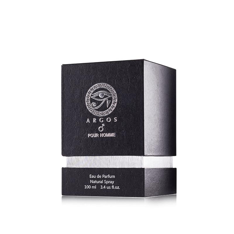 Argos Pour Homme Perfume Box Right Facing View
