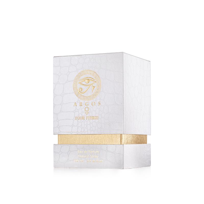 Argos Pour Femme Fragrances Box Right Facing View