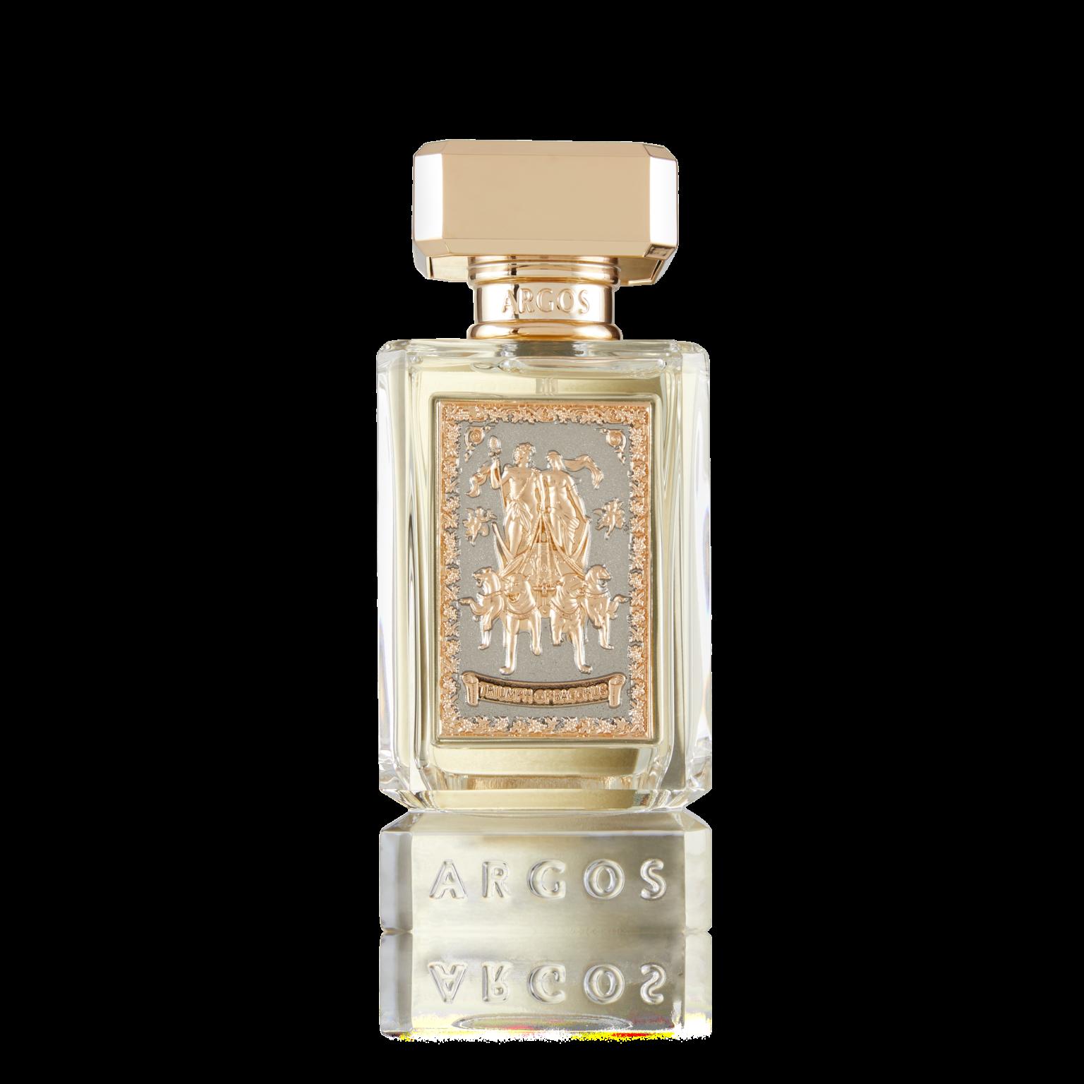 Argos Triumph Of Bacchus Bottle Front View